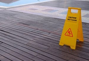sue cruise line for slipping accident